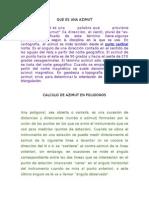 Proceso Del Azimutcalculo azimut