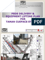 Delivery and Lifting Plan