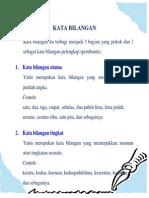 Kata Bilangan Dalam Bahasa Indonesia