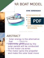 Solar Boat 2015