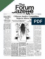 The Forum Gazette Vol.2 No. 5 March 5-19, 1987