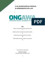 Protocolo de Delimitación de Parcelas