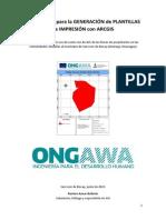 Protocolo Para La Generación de Plantillas de Impresión Con Arcgis