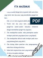 Kata Majemuk Dalam Bahasa Indonesia