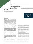 Vínculo afectivo en la relación parento-filial como factor de calidad de vida