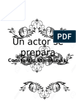 Un Actor Se Prepara