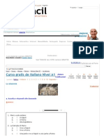 Curso Gratis de Italiano Nivel A1 - La Stazione _ AulaFacil