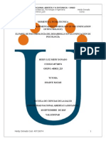 El Papel de Psicobiología Del Desarrollo en La Unificación de Psicología__heidy_donado