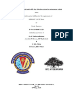 Thesis Report