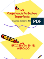 2. Competencia Imperfecta