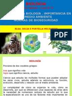 1er Biologia, Importancia Bioseguridd