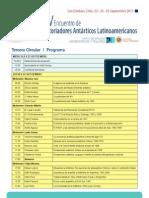 Circular 3 2015 Programa