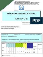 Modulo Archivo II