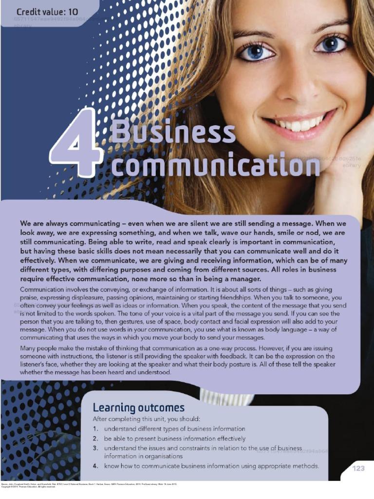 btec national business level 3 unit 15
