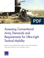 Assessing Conventional Army Demands and Requirements for Ultra-Light Tactical Mobility_2015