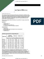 MS Office 2007 Versus Open Office 2.2