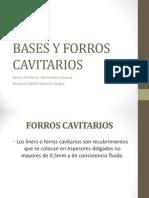Bases Cavitarias