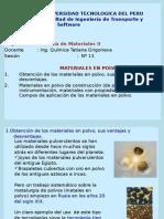 Ciencia de Materiales 2 Sesion 13