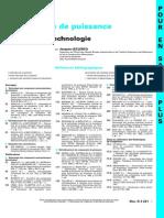 Techniques de L'Ingénieur - d3220 - Electronique de Puissance - Elements de Technologie (Biblio)