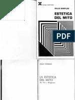 DORFLES, Gillo - Estética Del Mito