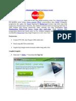Cara Mendapatkan MasterCard Secara Gratis