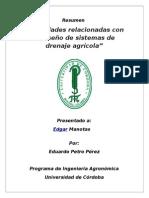Resumen Riego Y Drenajes -Petro Pérez Eduardo (1)