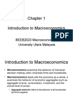 Chapter 1 Introduction to Macroeconomics
