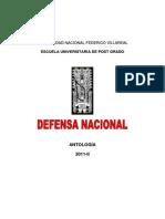 Curso Defensa Nacional. Dn_antologia