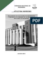 Reglamento Elecciones Autoridades Organos Gobierno 2015