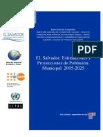 ELS-Estimacion y Proyeccion de Poblacion Municipal 2005-2025