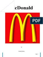 introduction to mcdonalds essay Before i go further into the case study of mcdonald's to japan, i will briefly explain the concept of globalization after a short history of mcdonald's, i will illustrate its introduction to japan, followed by a brief conclusion on how mcdonald's has found its way in japanese society globalization globalization exists in many forms.