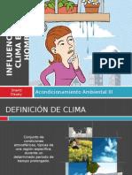 Influencia Del Climaenelhombre