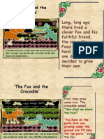 The Fox and the Crocodile