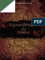 Assombrações de Tabira - Vol 1 - Poeta Felipe Amaral - Cordel de Malassombro