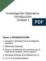 Investigación Operativa 2011