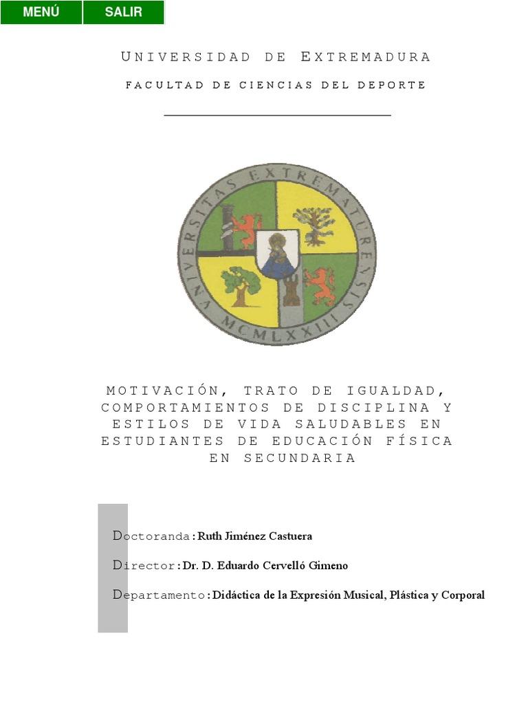 Dialnet Motivaciontratodeigualdadcomportamientosdediscipli 1256