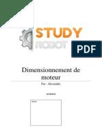 Dimensionnement d Un Moteur PDF
