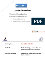 Introduction to Course And Design to special topices