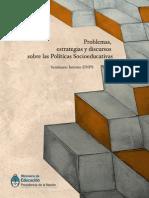 PROBLEMAS Estrategias y Discursos en Baja