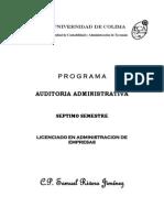 Programa Auditoria