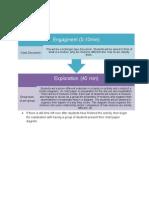 lesson flow chart - mixtures