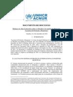Dialogo Do Alto Comissario 2010 - Lacunas de Protecao e Respostas - Documento de Discussao