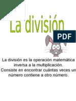 Presentación División