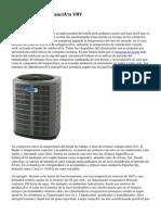Sistema De Climatización VRV
