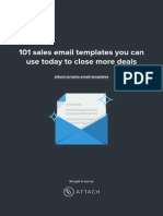 101 sales email templates you can use today to close more deals