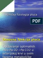 Fiziologija Pluca Studenti 2007