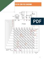 Platinum Remote PCB Diagram