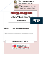 FIRST DISTANCE EXAM   ELEM 2.doc