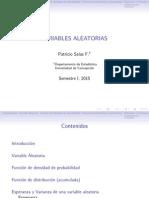 Clase 4 - Variables Aleatorias