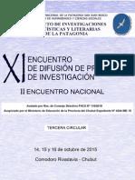 XI Encuentro ILLPAT 2015 - Tercera Circular
